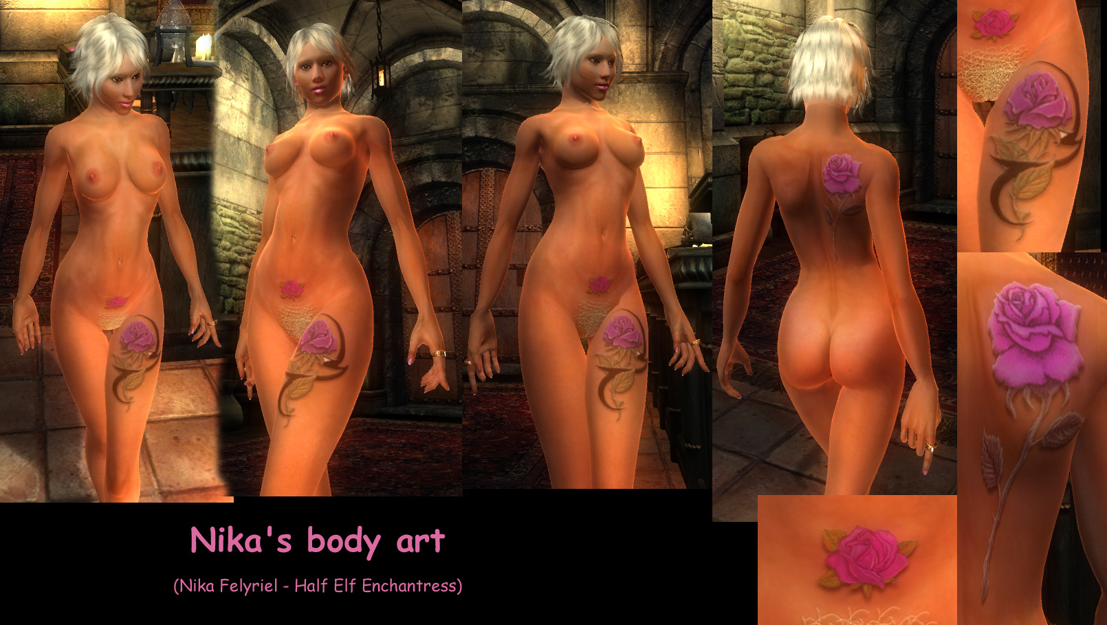 Oblivion nude patches zip hentai video